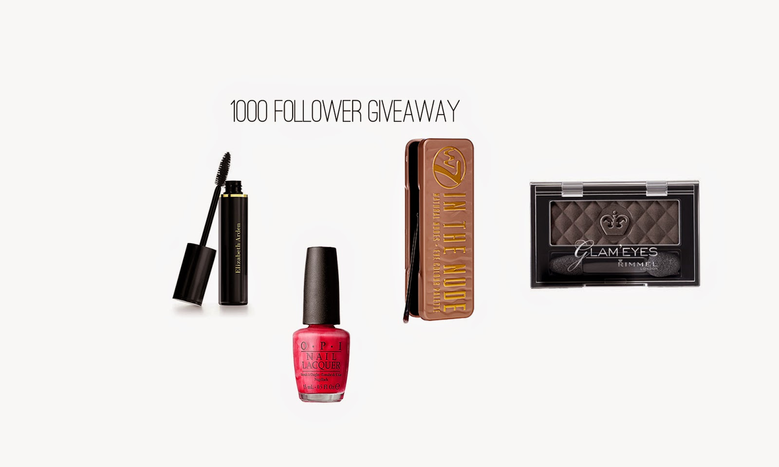 1000 follower giveaway!!