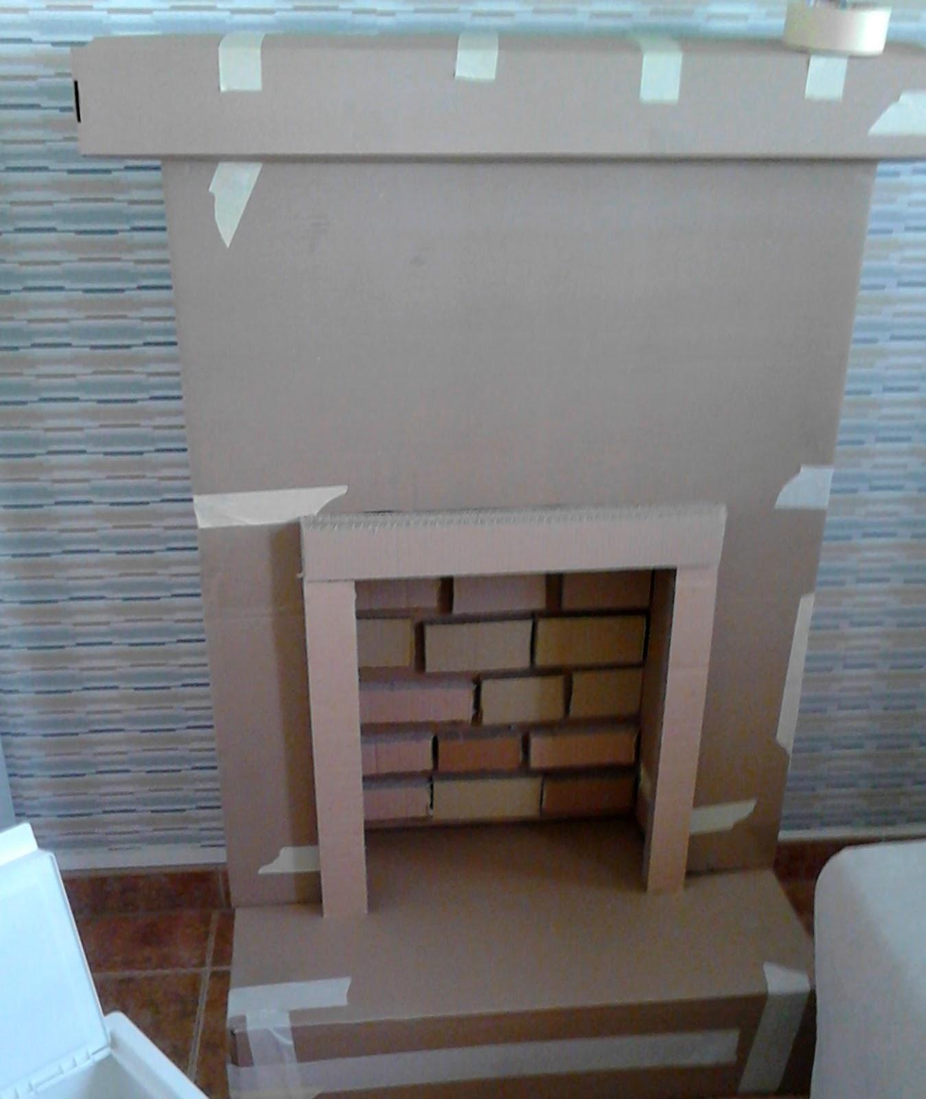 diy chimenea de cart n leroy merlin. Black Bedroom Furniture Sets. Home Design Ideas