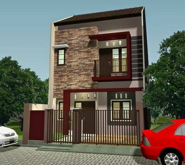 Rumah Minimalis type 36 2 lantai