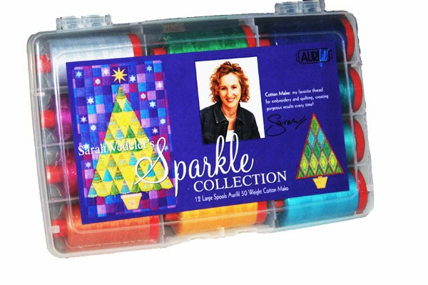 aurifil designer thread collection, sarah vedeler