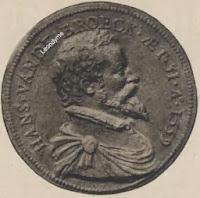Medaille, Hans Van Den Broeck, gegoten door Steven van Herwijck