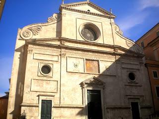 Facciata della Basilica di Sant'Agostino