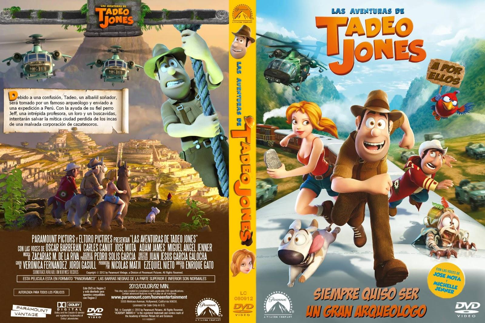 Las Aventuras De Tadeo Jones (2012) 720p Español Latino