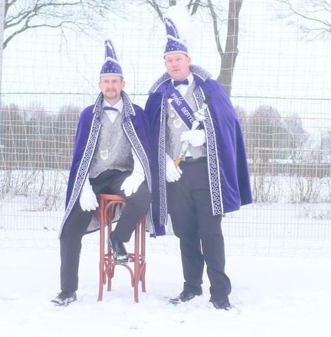 Prins Bertel 1e en Adjudant Gerard 2009 / 2010:
