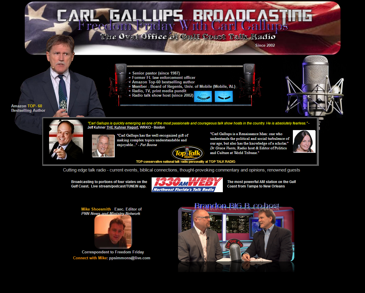 Freedom Friday With Carl Gallups | Carl Gallups Broadcasting
