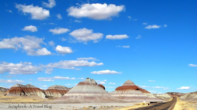 Teepees at Petrified Forest National Park Arizona