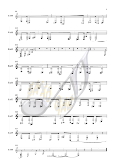 3 AI SE EU TE PEGO Partitura en clave de Sol en 2º línea Partituras para flauta, violín, oboe, trompeta, clarinete, saxo alto, tenor, soprano, corno, trompa...