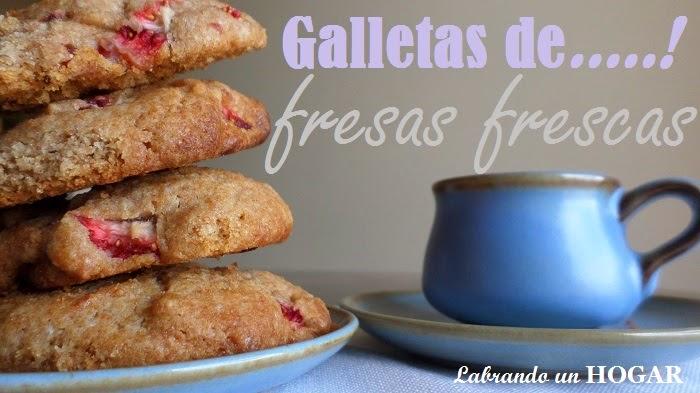 Receta: Galletas con fresas frescas