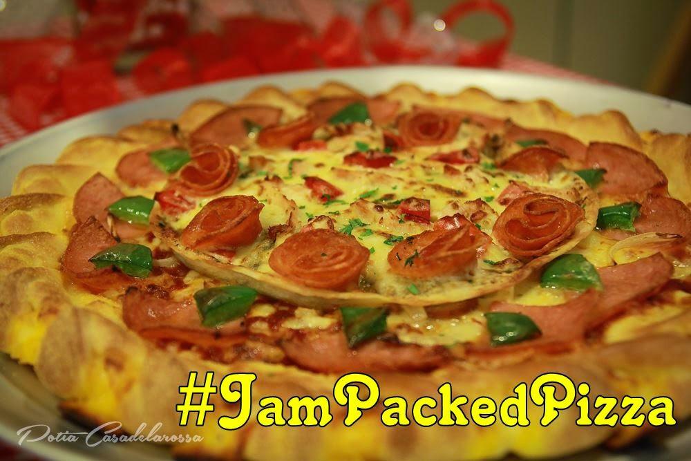Jam-Packed Pizza | Piza Dua Lapisan Baharu