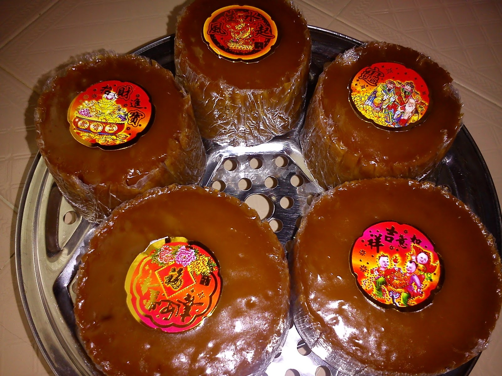 Cooking Pleasure Nian Gao Lunar Chinese New Year Cake