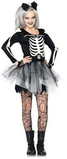 Sassy Skeleton Teen Costume
