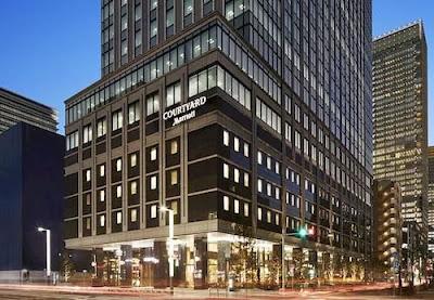 萬豪東京車站萬怡酒店 Courtyard by Marriott Tokyo Station
