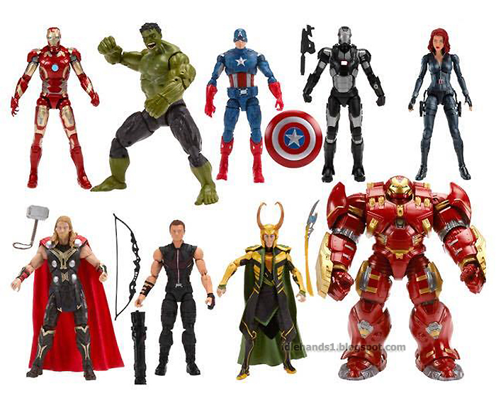 Top Three Toys Of 2012 : Idle hands toy fair a second chance at the avengers