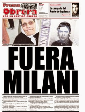 Fuera Milani