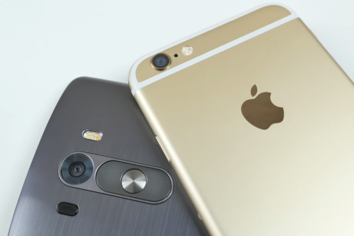 kualitas kamera Perbandingan Smartphone Apple Iphone 6 VS LG G3