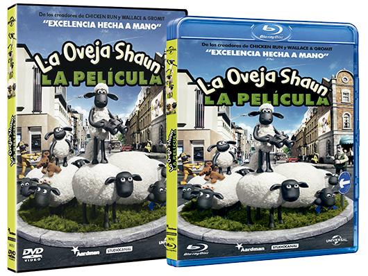 A la venta en DVD y Blu-ray 'La oveja Shaun: La película'