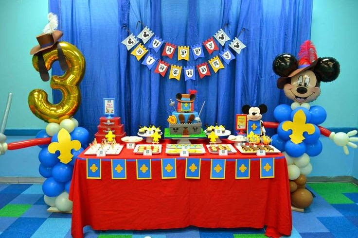 Decoración de Fiesta de Mickey Mouse : Fiestas Infantiles Decora