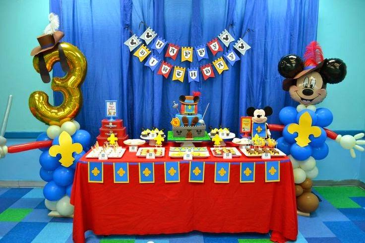decoracion cumpleanos infantiles 3 anos