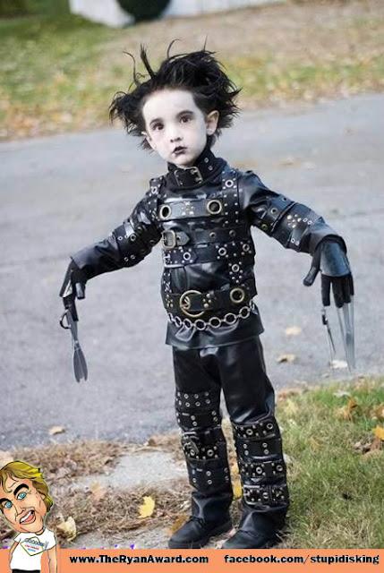 edward scissor hands Kids halloween costume