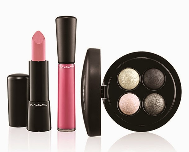 MAC Keepsakes Silver Lip and Eye Bag