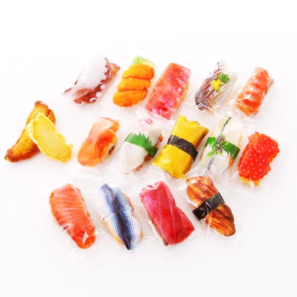 本物と間違えそうな 寿司あられ