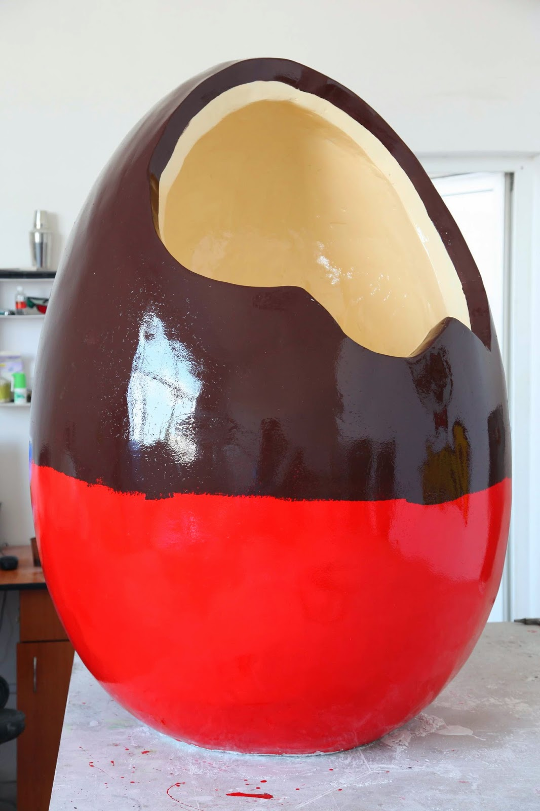 ovos de chocolate gigantes