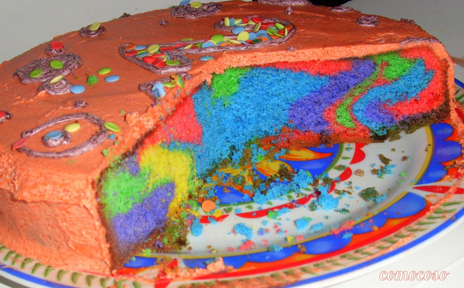 Comocoso pastel de cumplea os primil - Bizcocho de cumpleanos para ninos ...