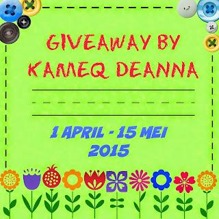 giveaway by kameq deanna yang banyak hadiah