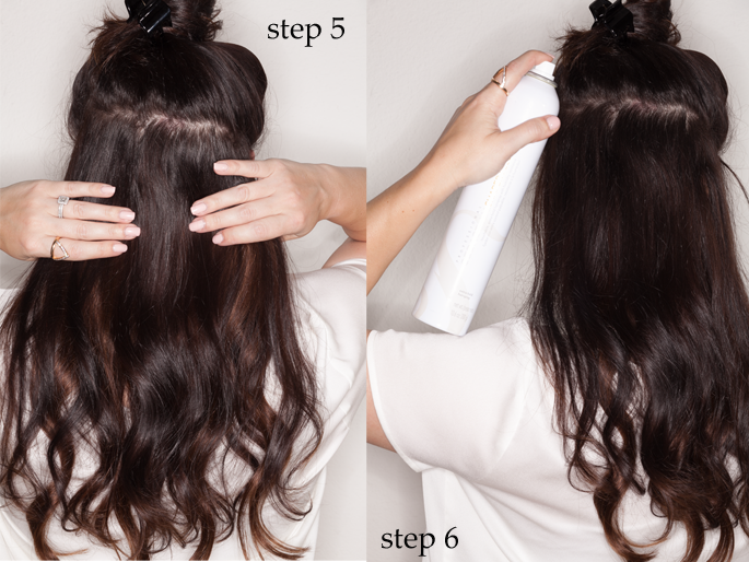 Clip In Hair Extensions Step By Step Guide 12