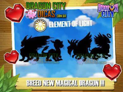 Novos Dragões - Elemento Luz
