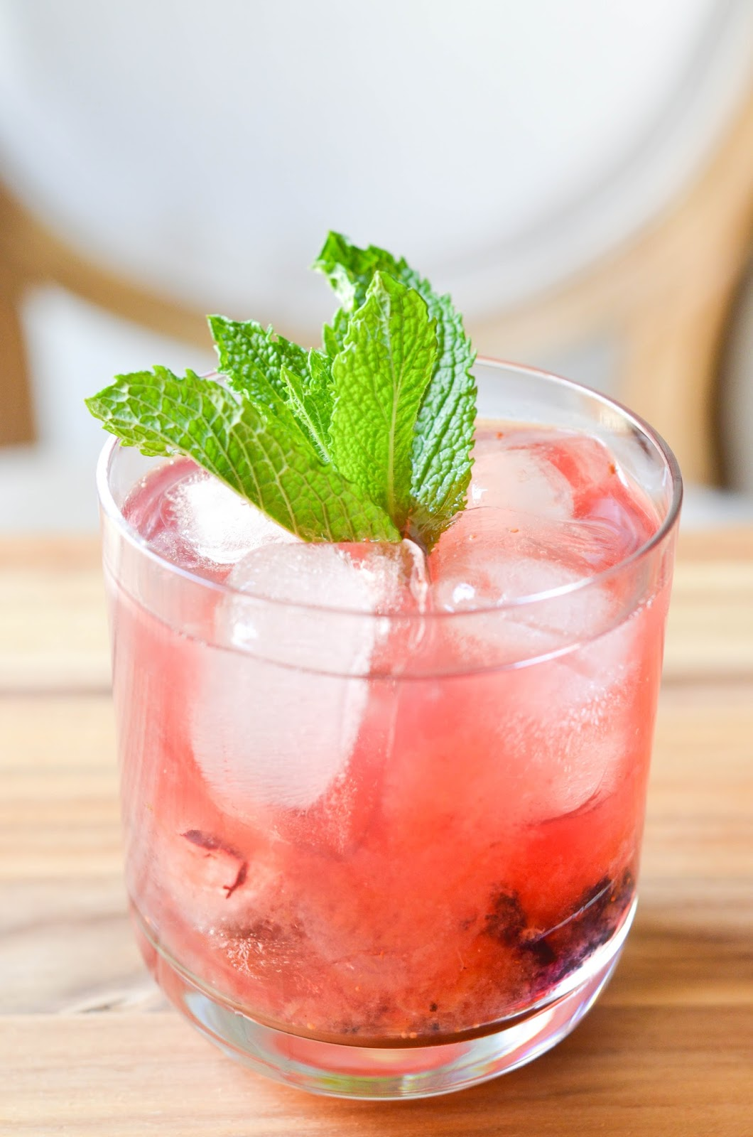 blueberry mint julep | prosecco in the park