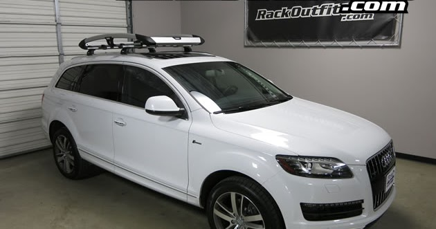 Rack Outfitters Audi Q7 Thule Aeroblade Edge Base Roof