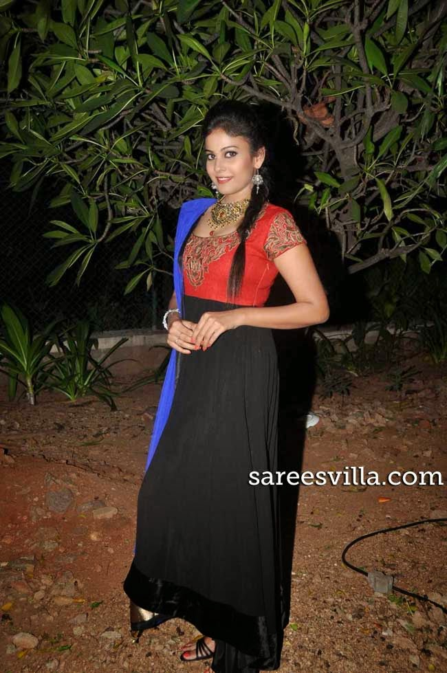 Actress Chandini In Anarkali