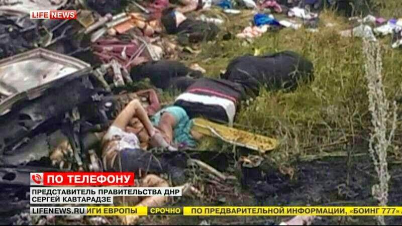 Foto-Foto Seram Jatuhnya Pesawat Malaysia Airlines MH-17