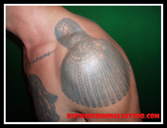 Фото тату тюремное значения