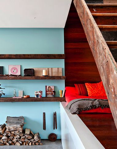 A Simple Life Afloat Bed Under The Stairs