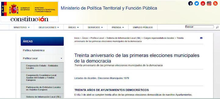 30 años de gobiernos municipales democráticos
