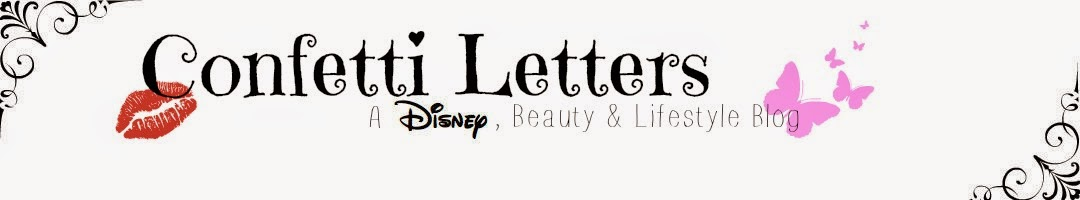 Confetti Letters