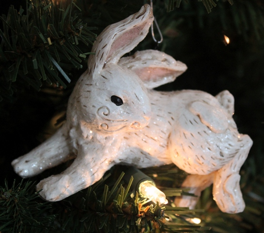 every year it truly makes me smile that you ask me to share photos of my bunny tree my collection of bunny ornaments keeps growing and growing