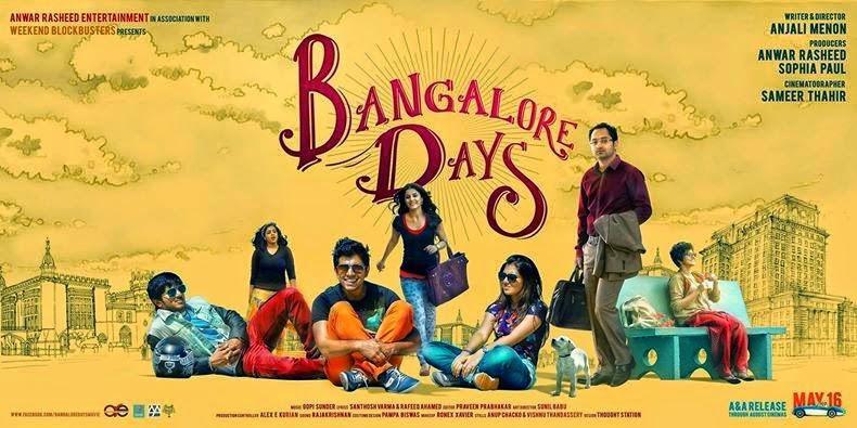 Bangalore Days 2014 Malayalam Movie Online Free