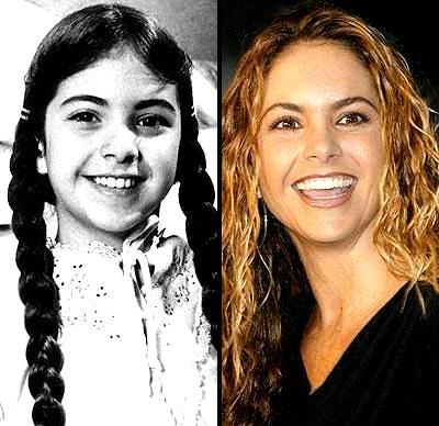 Lucero antes y ahora
