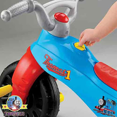 Fisher Price Thomas and friends ride on for toddler toy tough trike many years of fun play time
