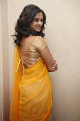 Nanditha raj latest photos in half saree-thumbnail-14