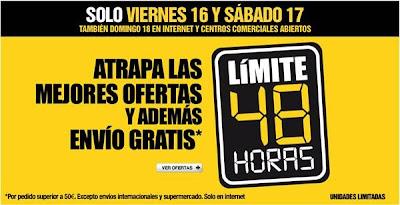 limite 48 horas corte ingles 16-8-2013