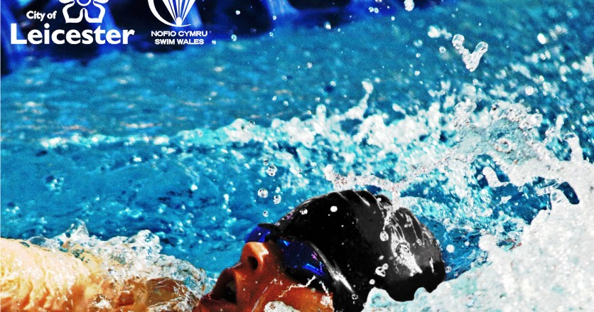 Swimmer James Davies Swim Wales Poster