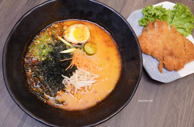 Tom Yum Chicken Katsu Ramen - RM22.05
