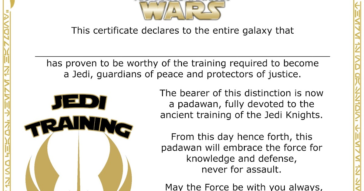 printable training certificate