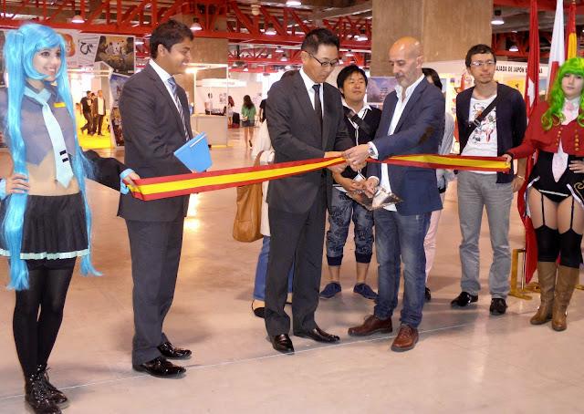 expomanga 2015 Kazuhiko Koshikawa inauguracion