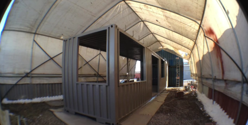 The tablet traveler shipping containers recycled into affordable accessible utah home a new - Shipping container homes utah ...