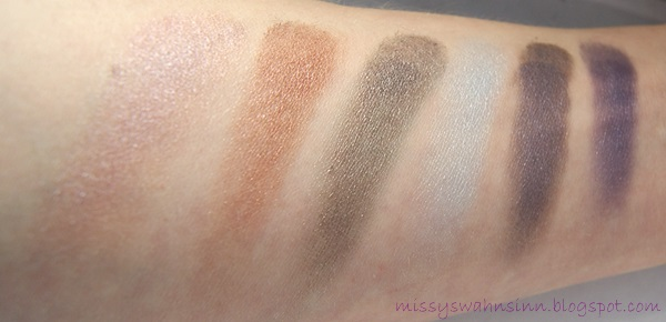 bhcosmetics galaxy chic swatches 3. Reihe